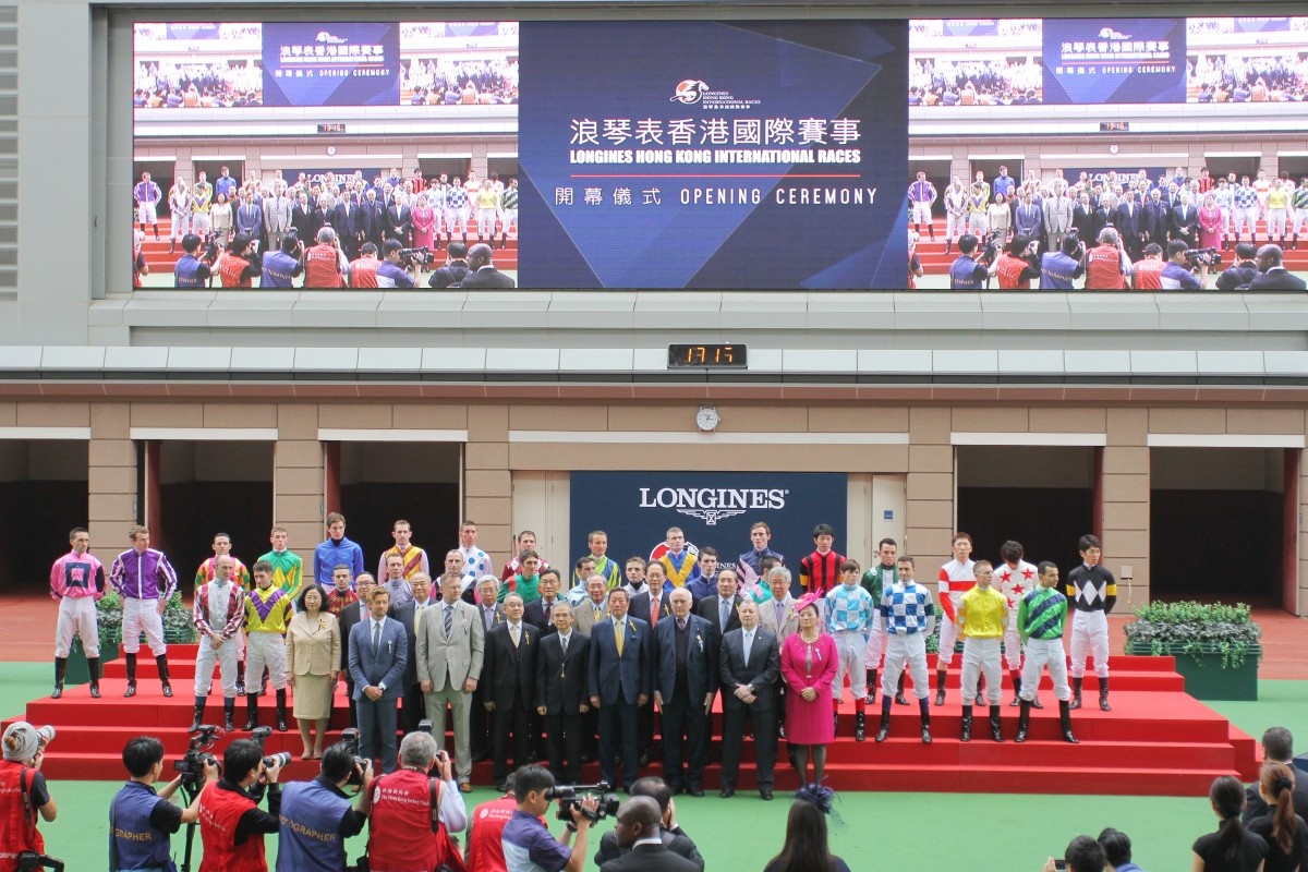 Some of the world's best jockeys flocked to Sha Tin for the 2015 Hong Kong International Races.