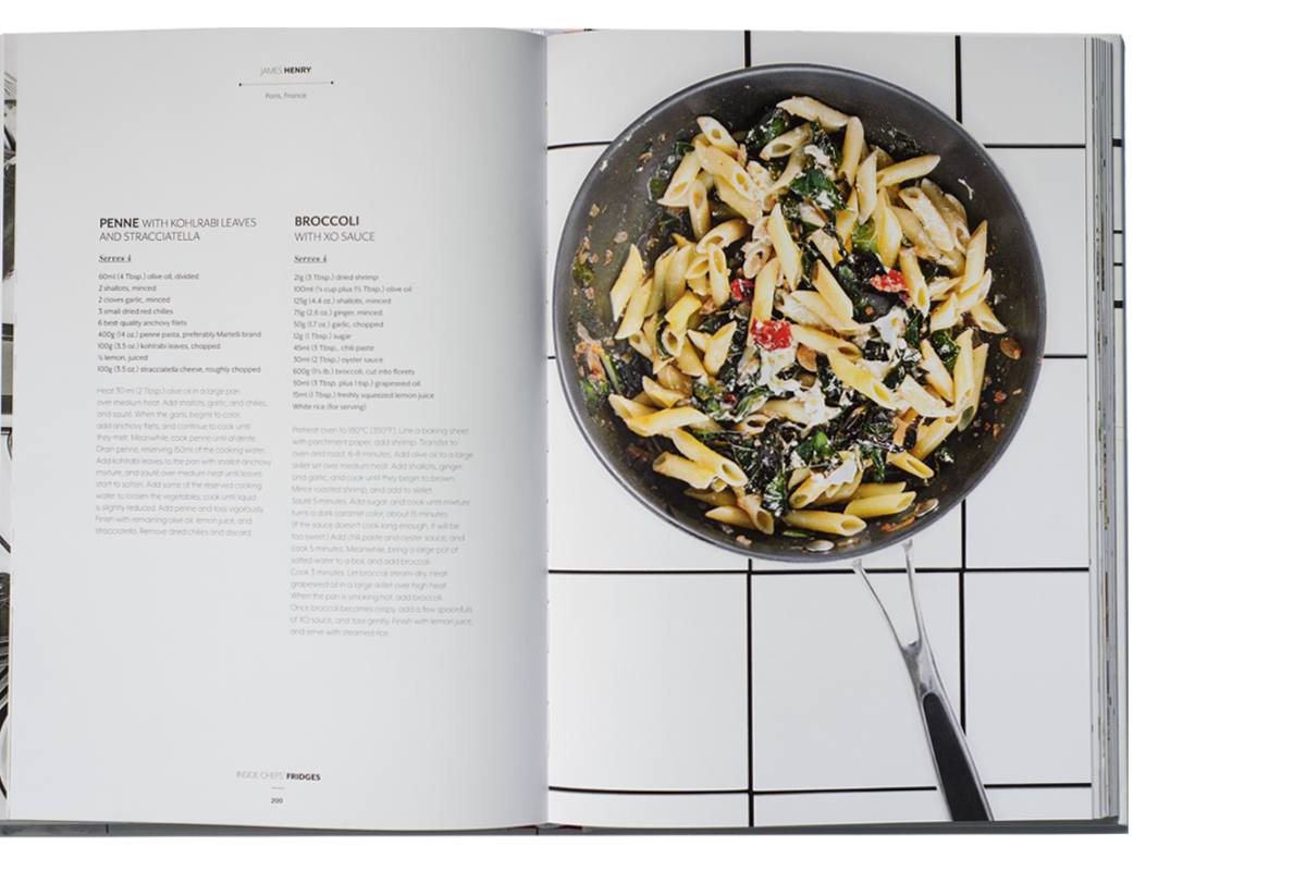 Food book review inside chefs fridges europe a peek into it seems logical to assume that the contents of a refrigerator are a reflection of their owner someone whos analytical and methodical will have a neatly forumfinder Choice Image