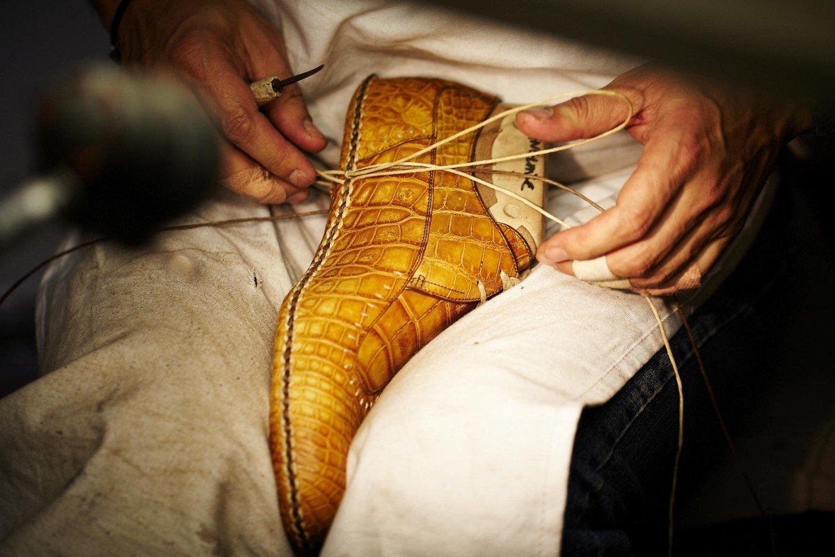Berluti is known for its bespoke shoe services.