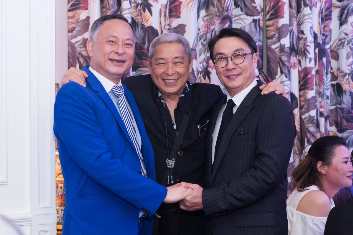 Johnnie To, Siu Ming Lau and Damian Lau