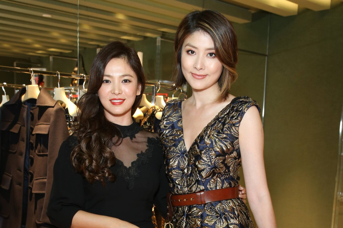 Song Hye-kyo and Kelly Chen