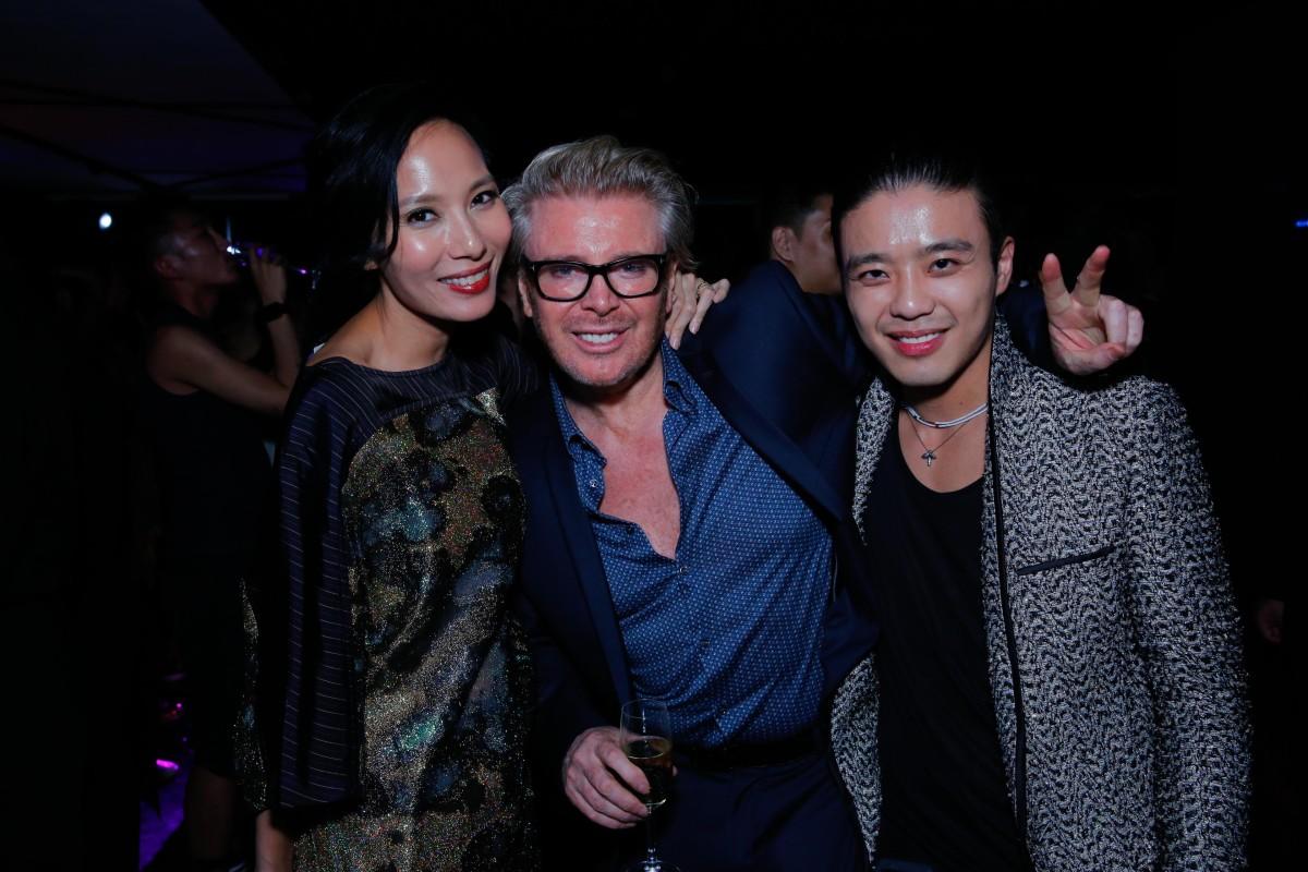 Jaime Ho Ku, Kim Robinson and Jonathan Cheung