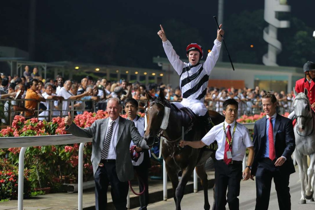 Dan Excel, who won the Group One Singapore Airlines International Cup, has been retired. Photos: Kenneth Chan