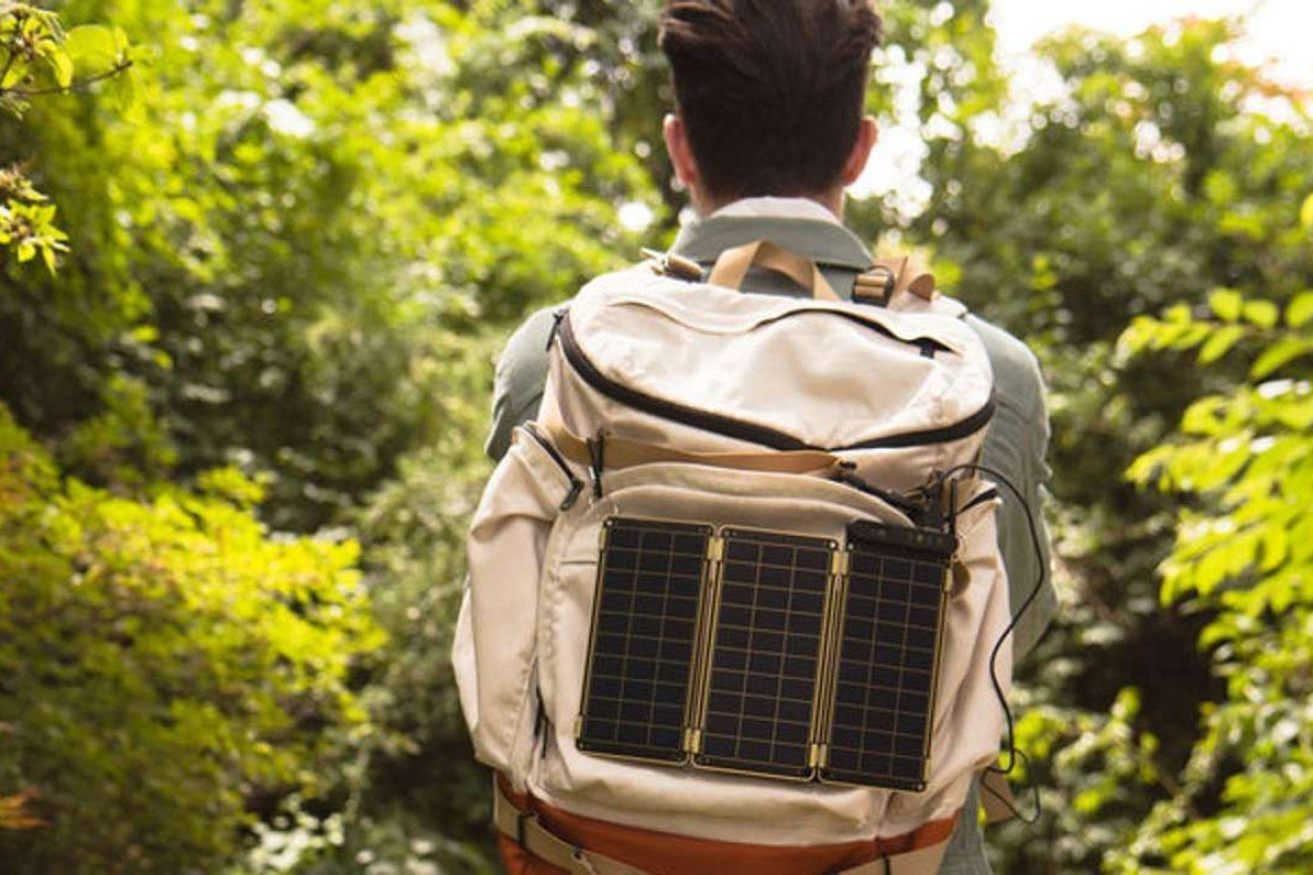 Solar Paper lets you recharge your gadgets on the go.