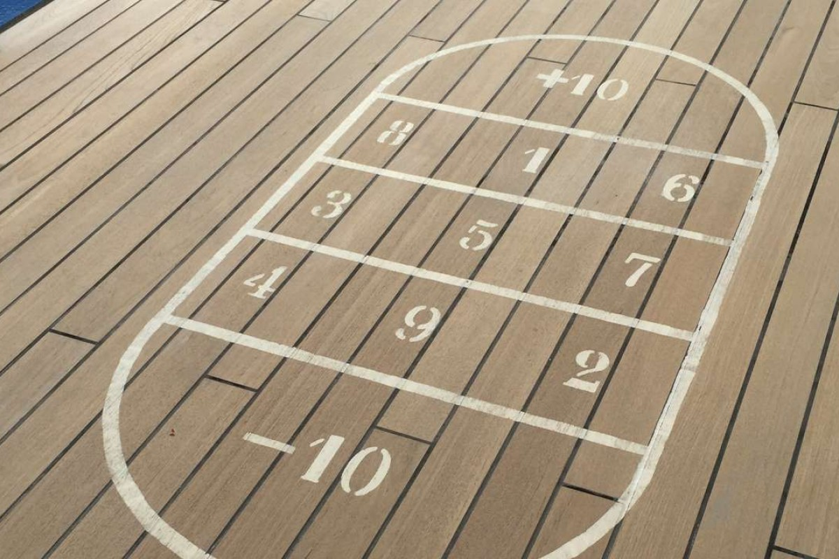 Shuffleboard is back in vogue.
