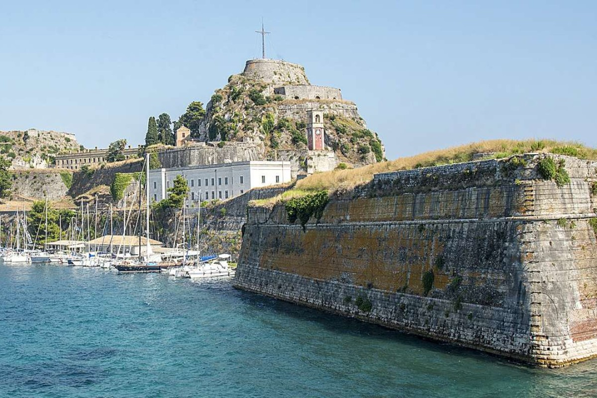 The Old Fortress of Corfu. Pictures: Tim Pile