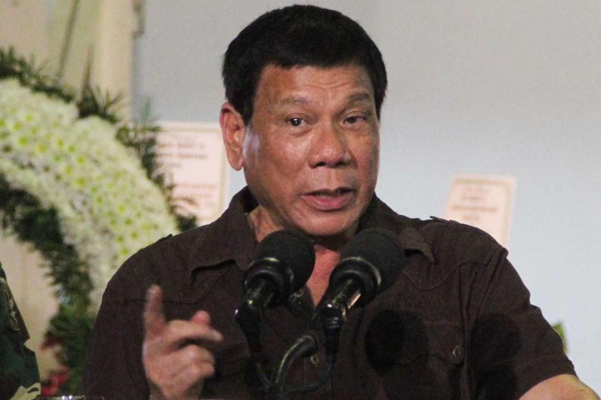 Philippine President Rodrigo Duterte. Picture: EPA