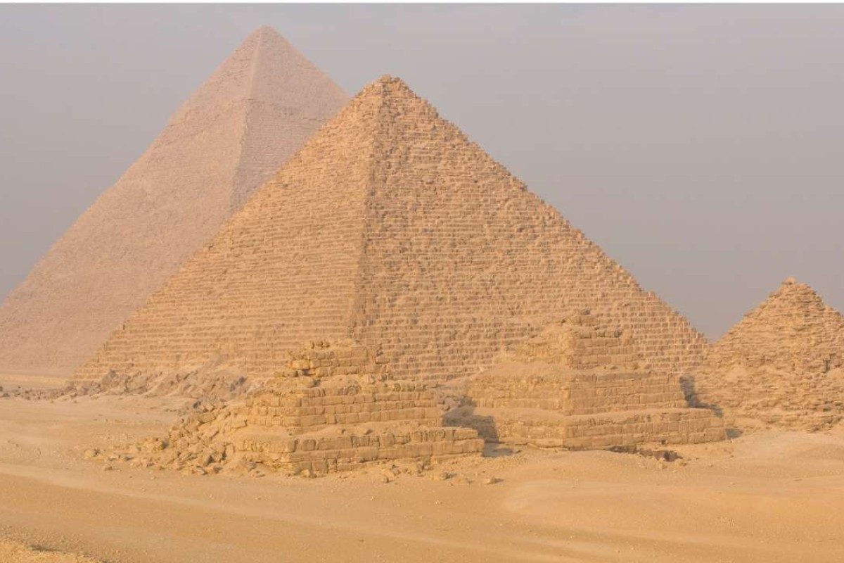 The pyramids of Giza. Pictures: Alamy
