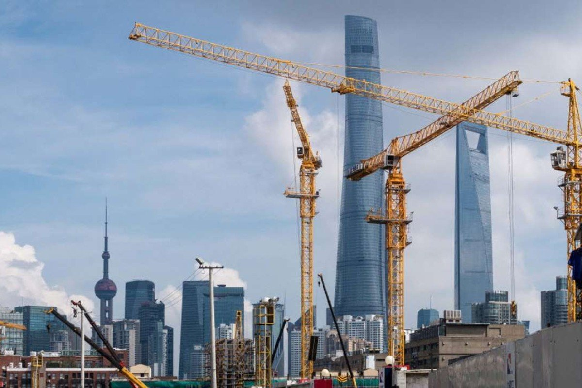Construction in China has boomed over the last two decades. Photo: AP