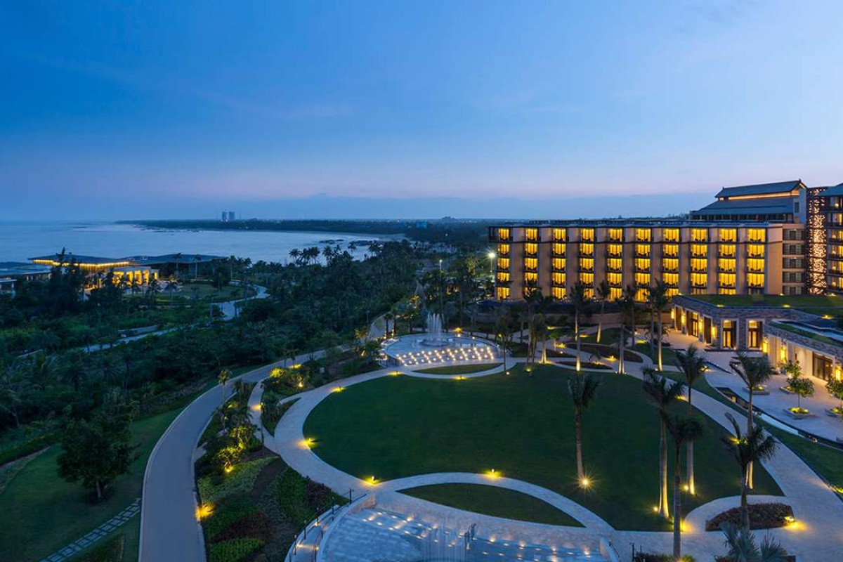 The Hilton Wenchang in Hainan.