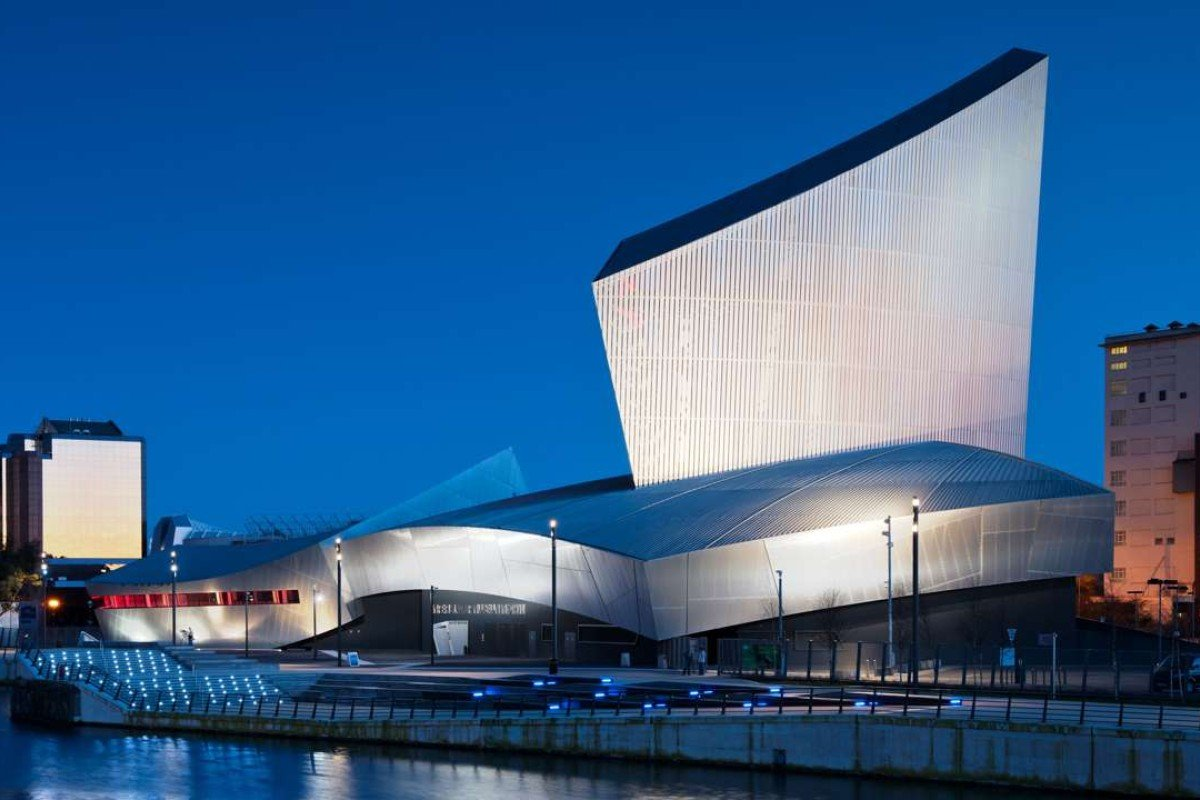 The Imperial War Museum North, in Manchester, one of Daniel Libeskind's creations. Picture: Alamy