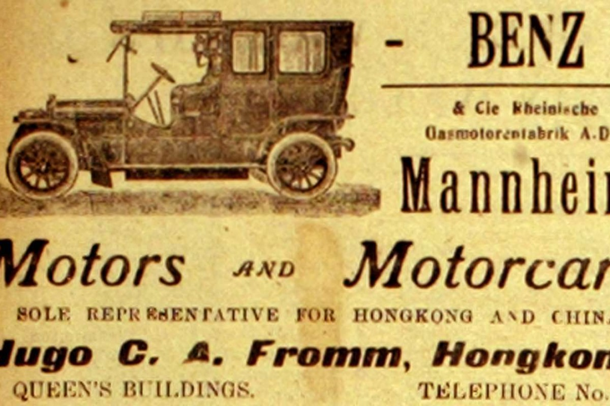 Hong Kong unimpressed by arrival of the first motor cars | Post ...