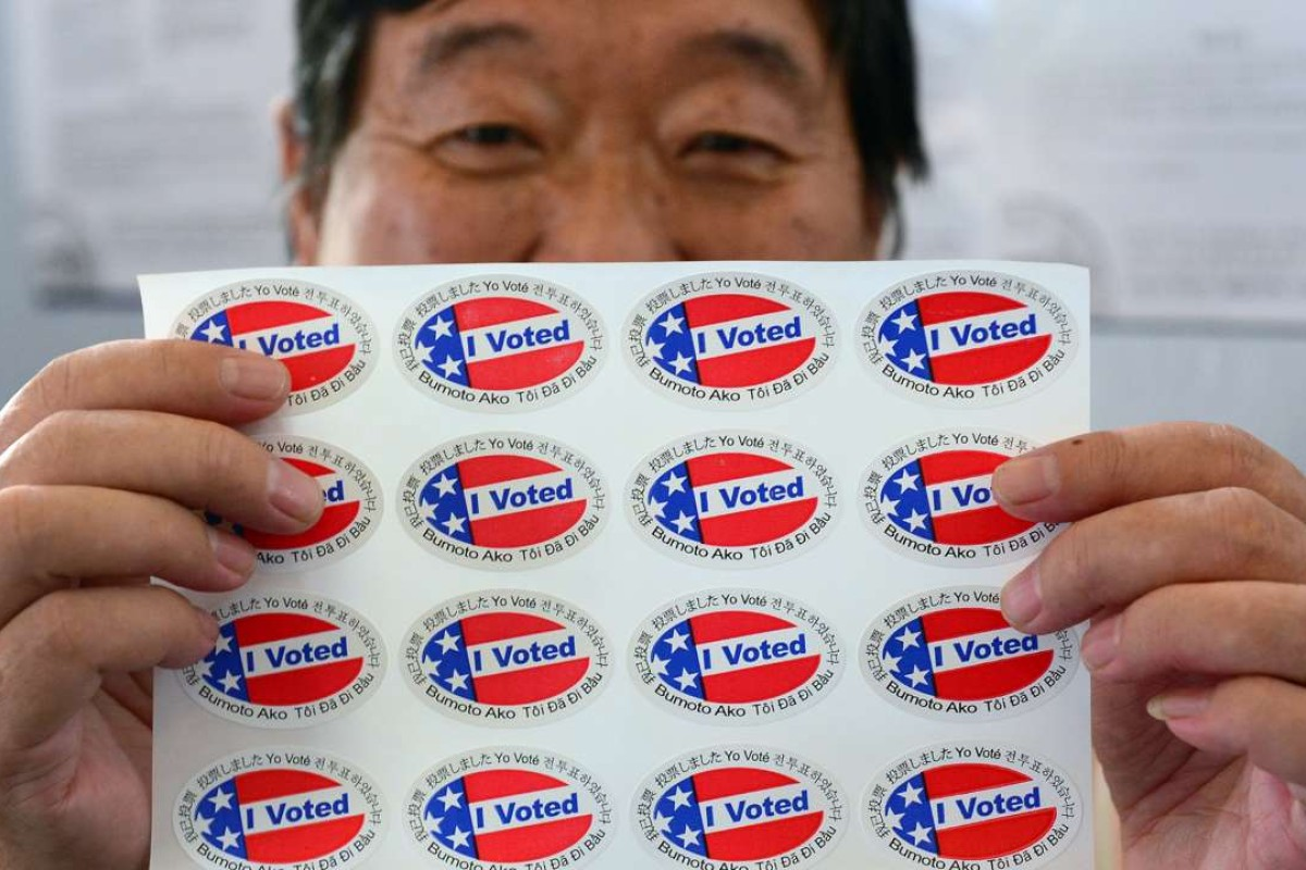 The proportion of Asian Americans registered to vote is lower than that of African Americans or whites. Photo: AFP