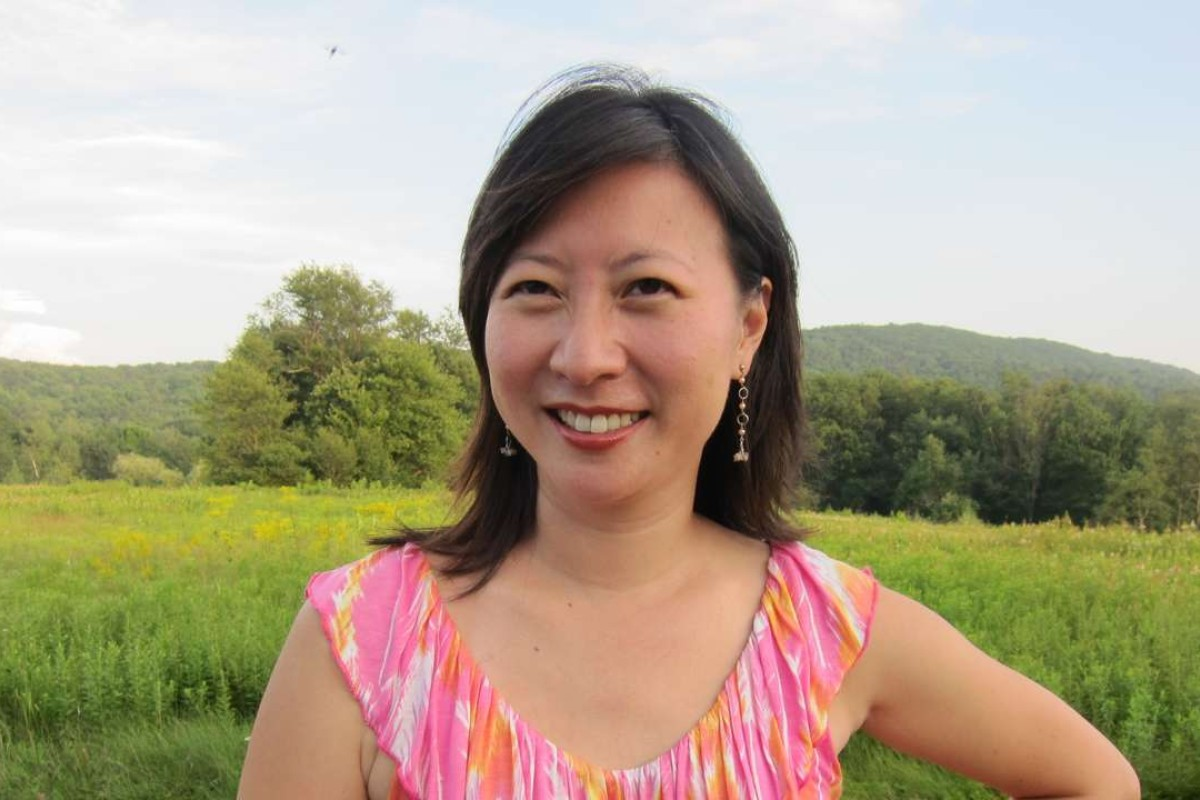 Cheryl Lu-lien Tan, the author of Sarong Party Girls, which is written entirely in Singlish. File photo