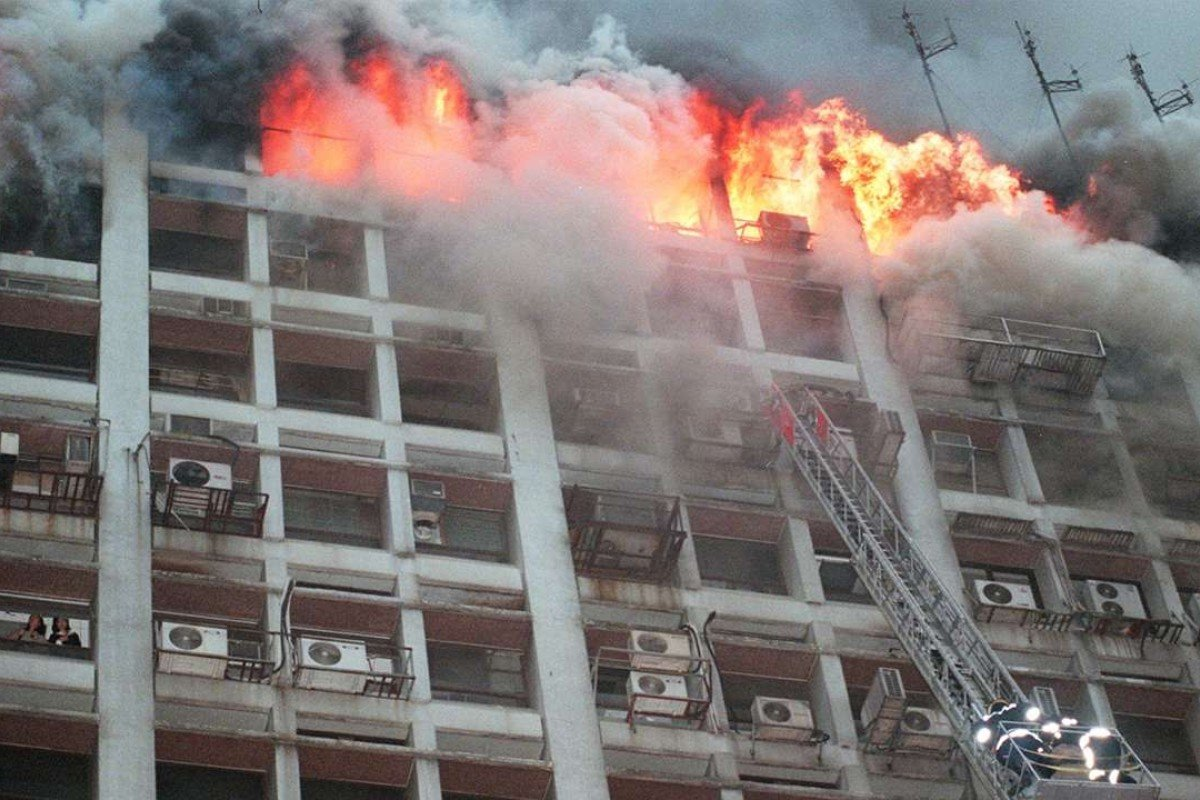 The Garley Building, on November 20, 1996. Pictures: SCMP