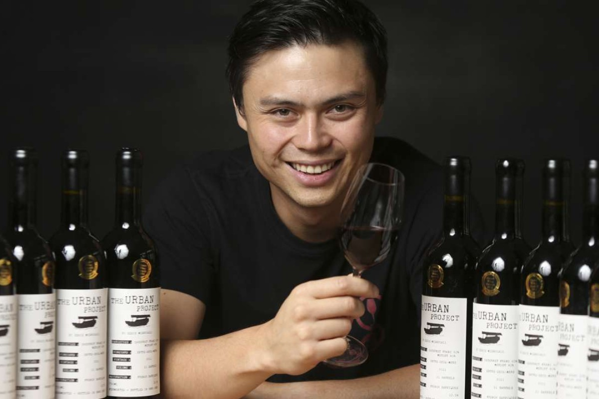 Eddie McDougall, aka The Flying Winemaker. Pictures: Xiaomei Chen