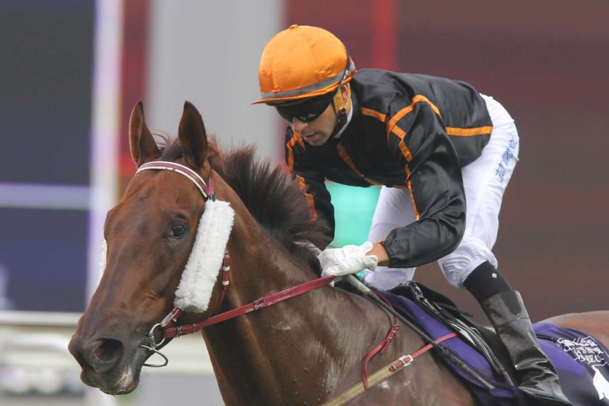 Joao Moreira will ride Able Friend in the Hong Kong Mile. Photos: Kenneth Chan