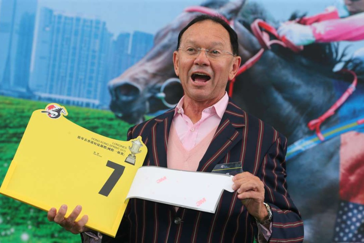 Former Hong Kong jockey and current Sydney trainer Gary Moore is a chance to bring his horse Takedown for the Hong Kong Sprint. Photos: Kenneth Chan