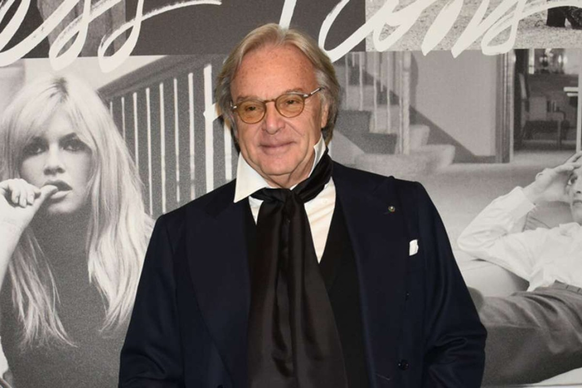 Diego Della Valle at Tod's event in Tokyo