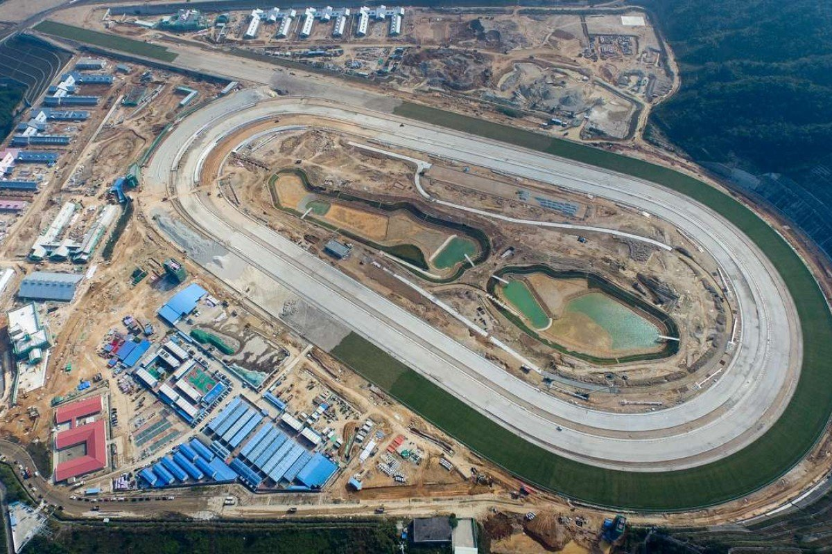 The Hong Kong Jockey Club's new HK$3 billion training facility at Conghua, near Guangzhou, will be ready for business in 18 months. Photo: Hong Kong Jockey Club