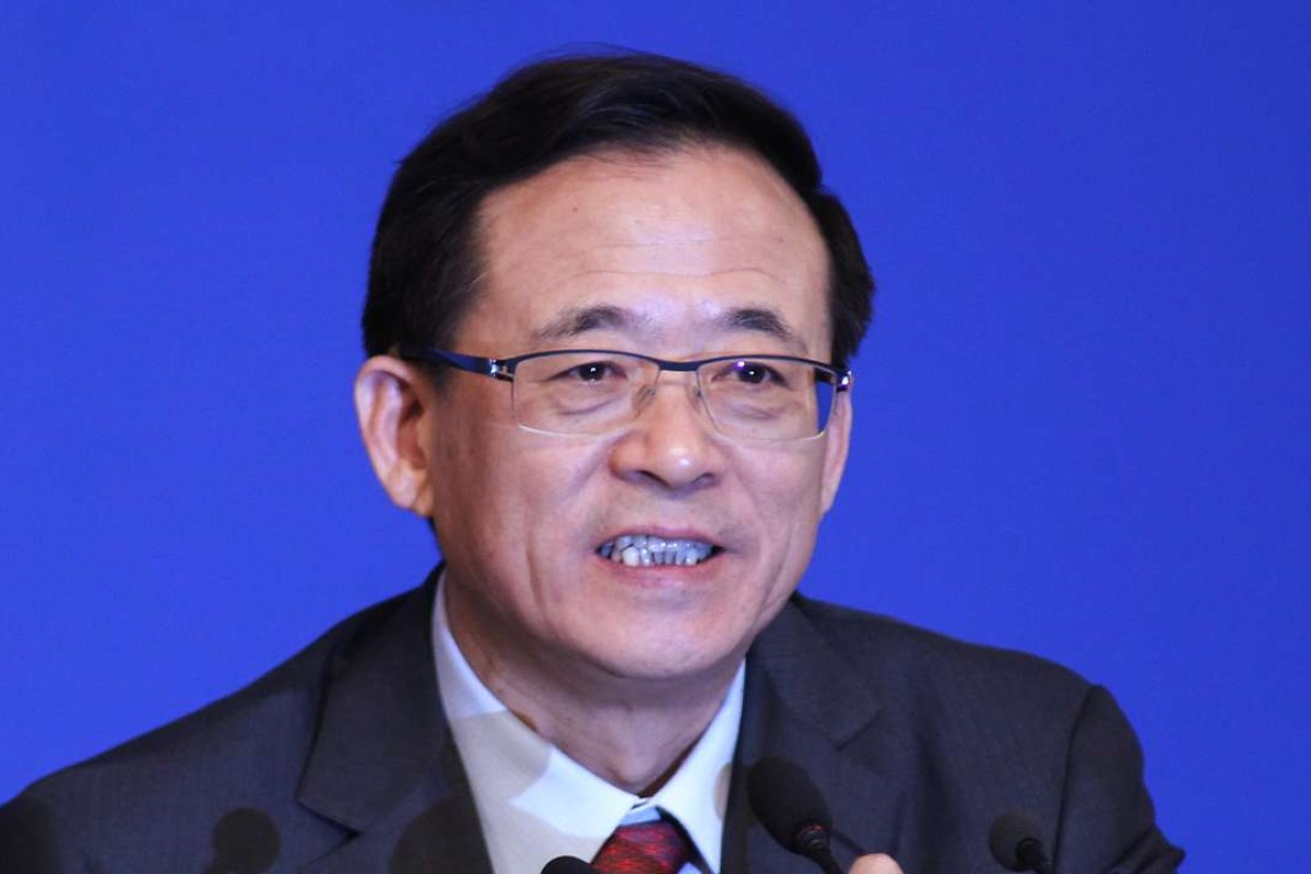 """Liu Shiyu, the mainland's top securities regulator, went off script last weekend and denounced Chinese insurers as """"barbarians"""", """"robbers"""" and """"sirens"""". Photo: Simon Song"""