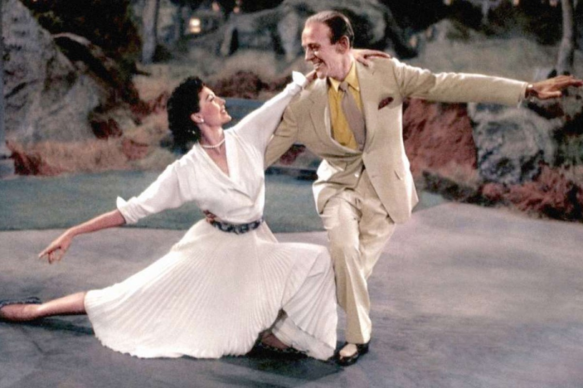 Cyd Charisse and Fred Astaire in The Band Wagon (1953).
