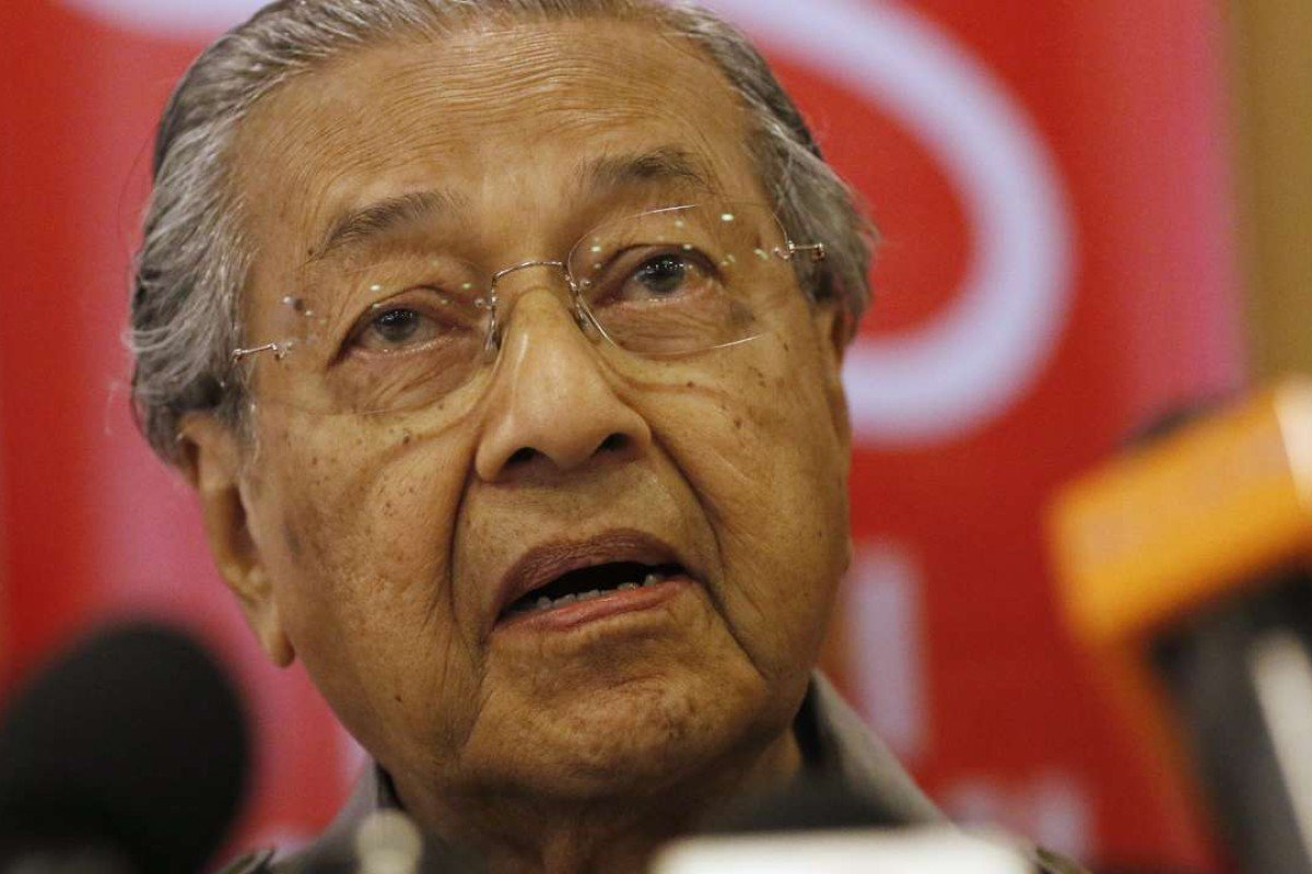 Malaysia's former prime minister, Mahathir Mohamad. Photo: EPA