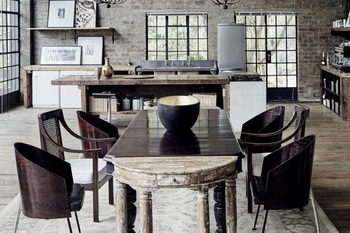 South african fashion designer jenni button finds the for Kitchen tables cape town