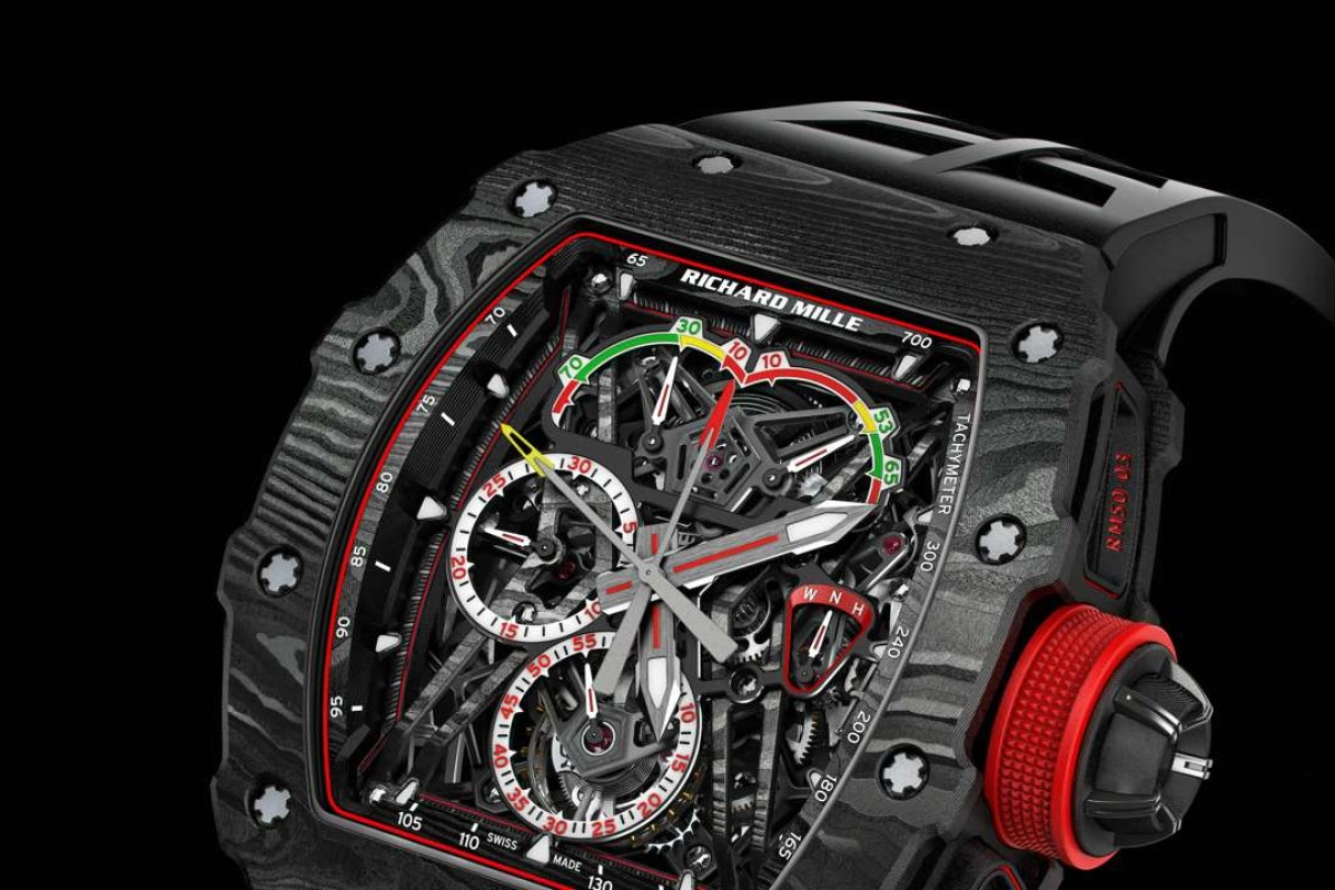 The RM 50-03 Tourbillon Split Seconds Chronograph Ultralight McLaren F1