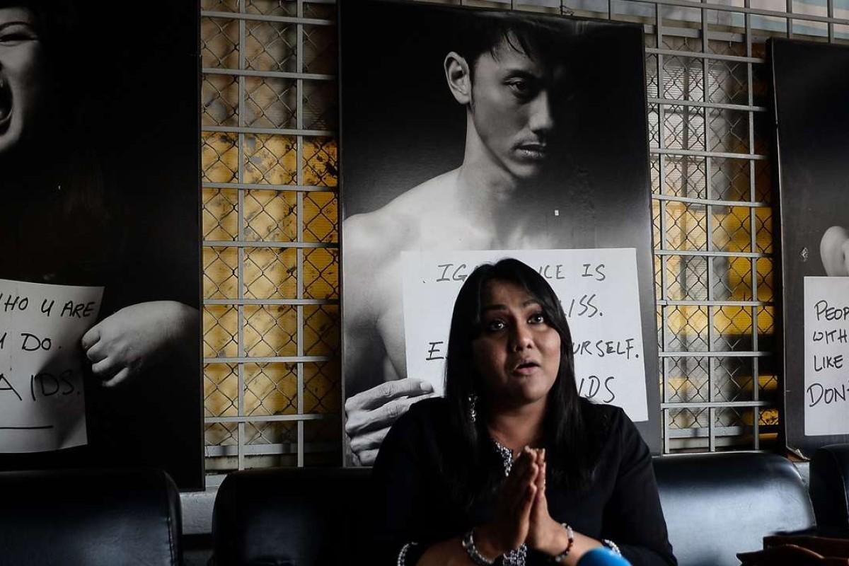 Malaysian transgender woman Nisha Ayub. Photo: AFP