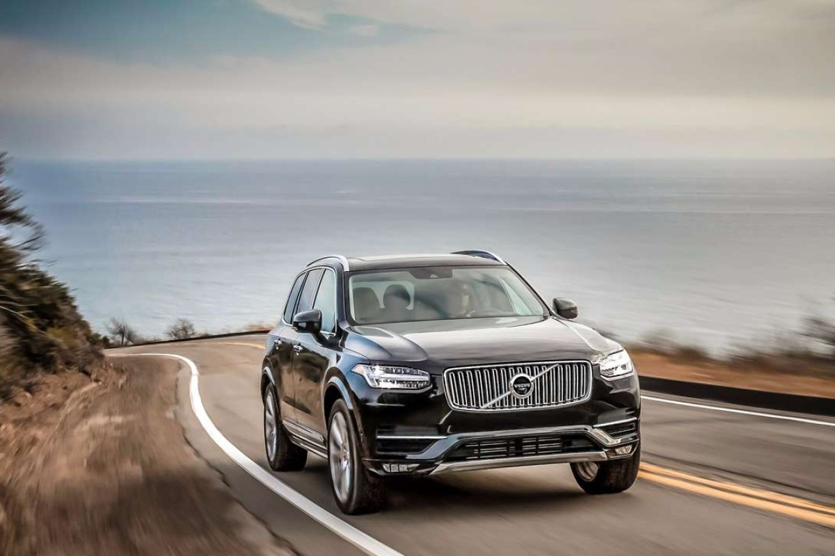 Volvo's first electric car, the XC90