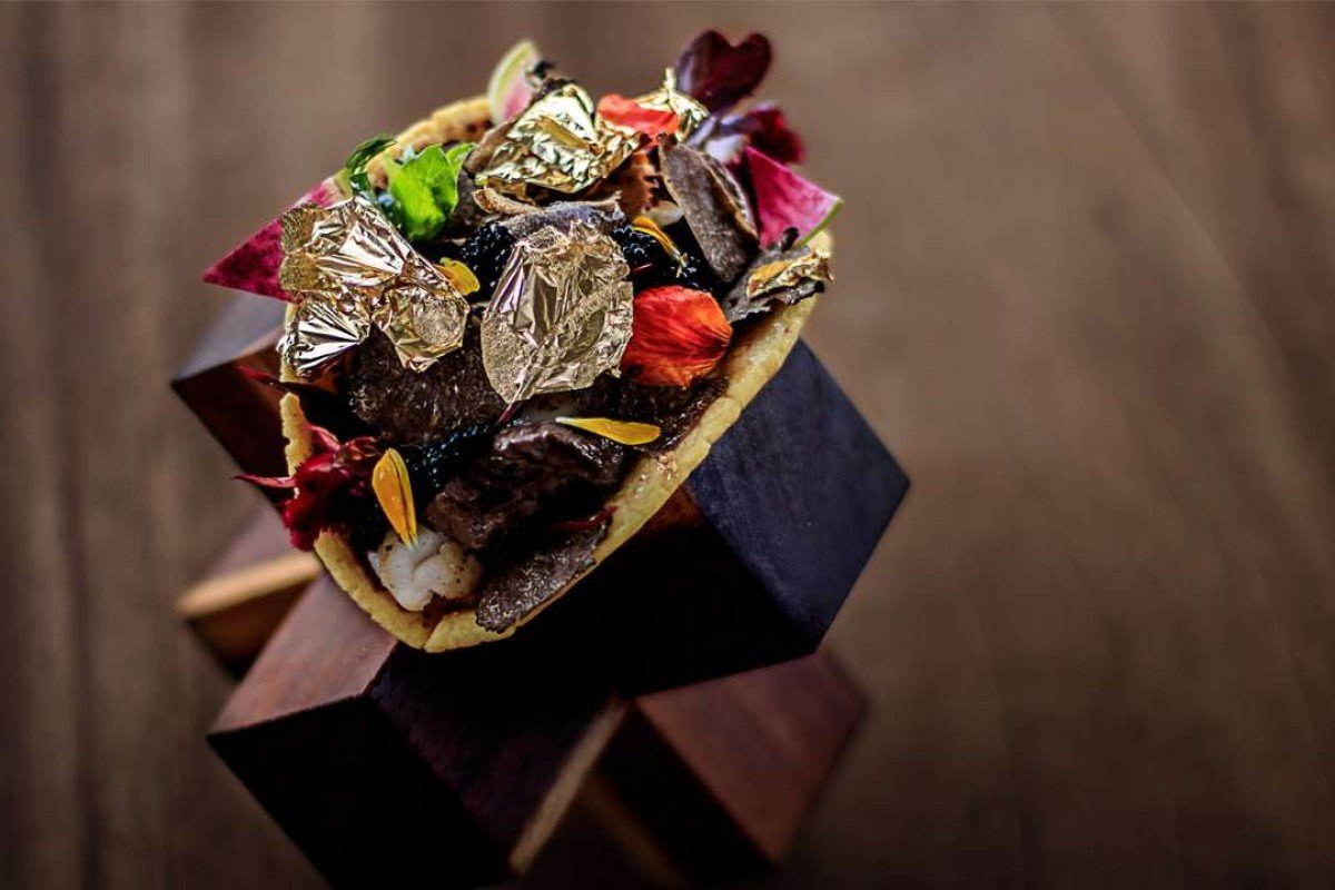 "The most expensive ""taco"" in the world costs US$25.000. Photo: AFP"