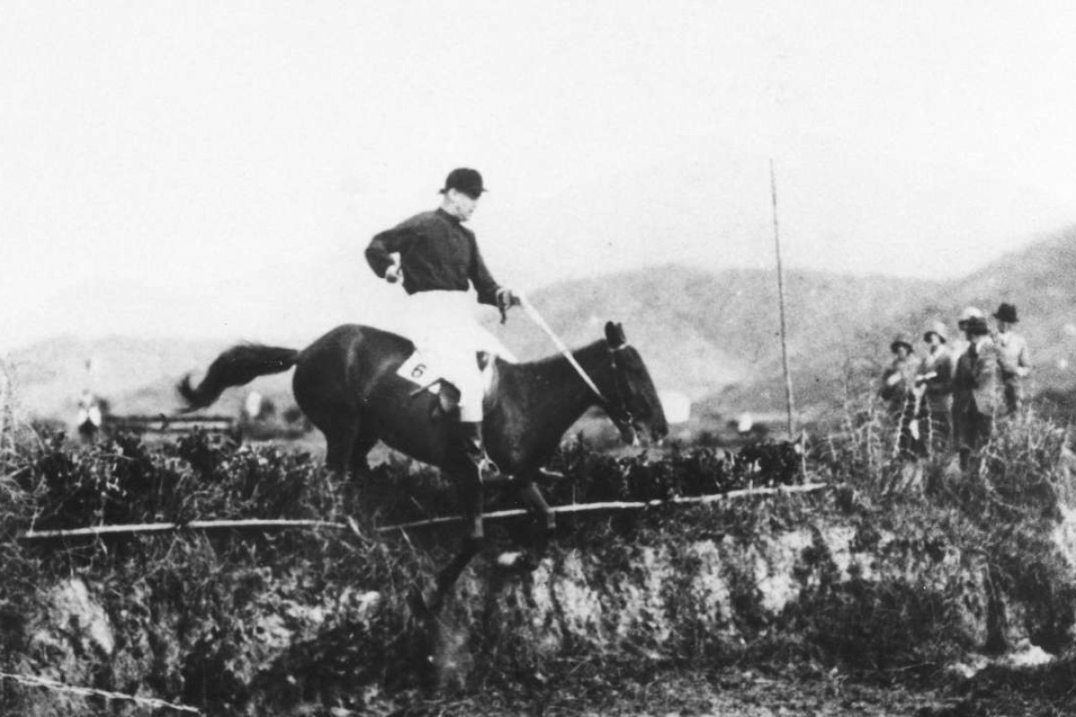 Horse riding in 1930.