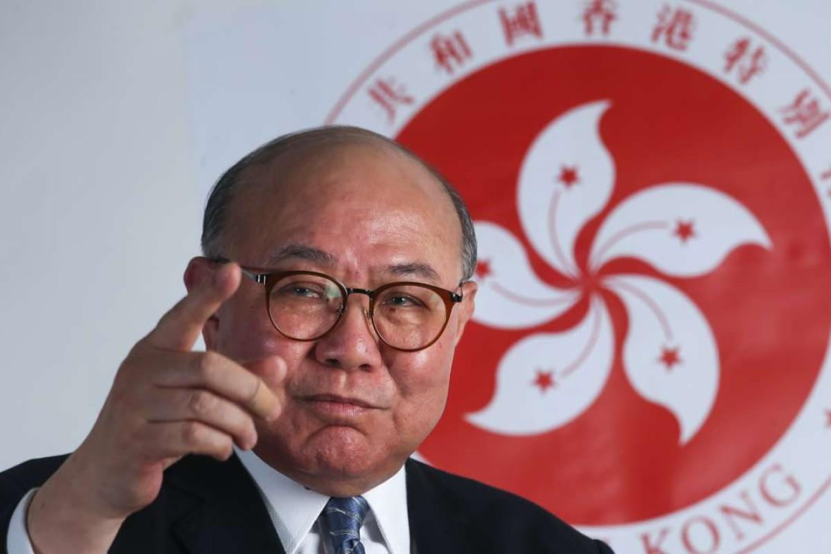 Woo Kwok-hing. Picture: David Wong