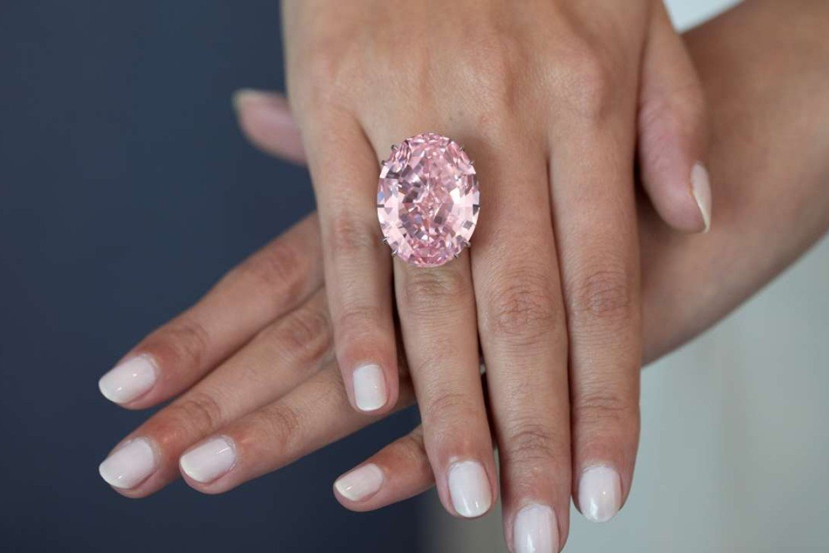 The Pink Star goes on auction tomorrow at Sotheby's Hong Kong, while four other coloured diamonds have also stolen the spotlight