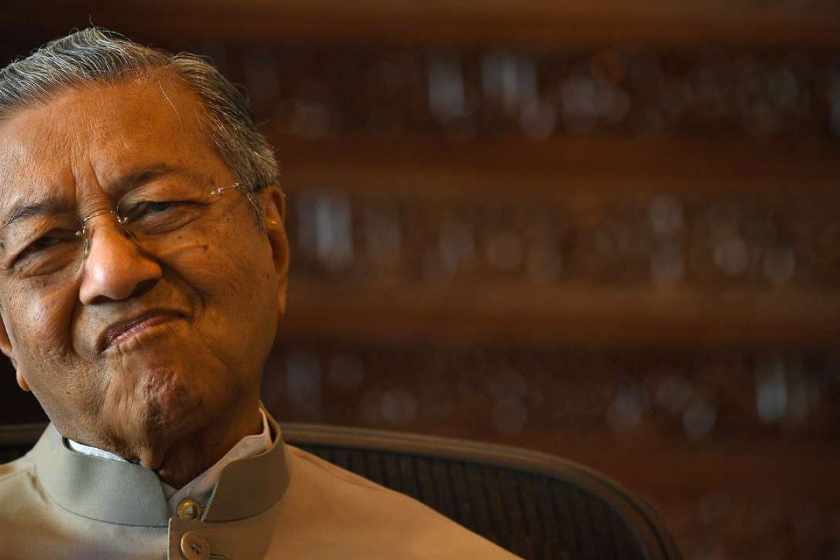 Malaysia's former prime minister – and now Number 1 dissident – Mahathir Mohamad. Photo: AFP