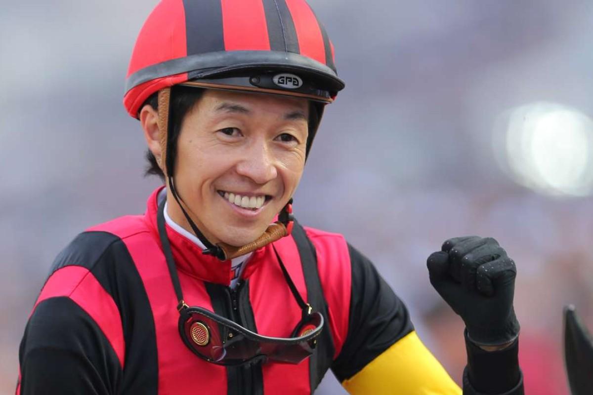 Jockey Yutaka Take. Photo: Kenneth Chan