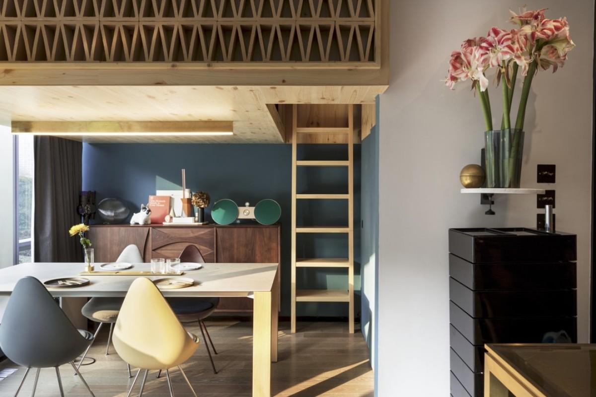 Tiny Treehouseinspired Hong Kong Apartment Takes Its Design Cues - Hong kong small house design