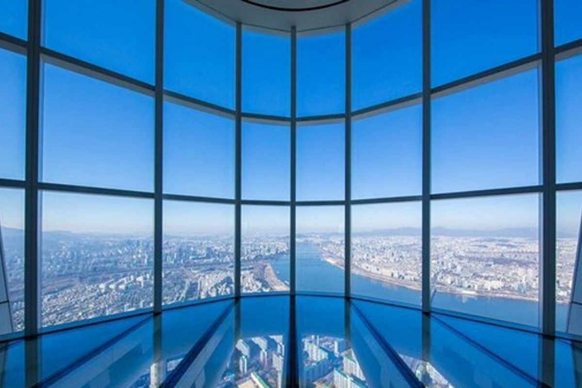 SeoulSky observation desk, Lotte World Tower. Photo: Seoul Tourism Organisation