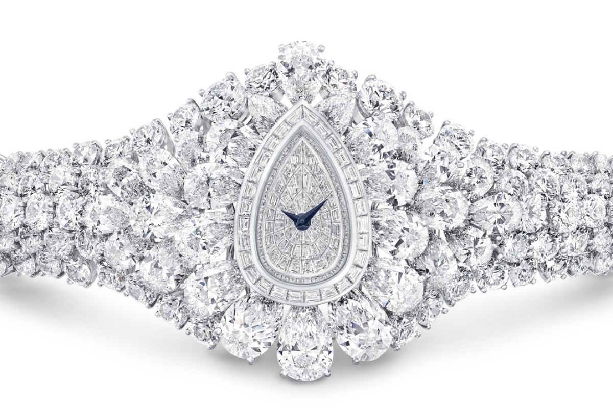 Graff Fascination, with 152.96ct of the finest white diamonds