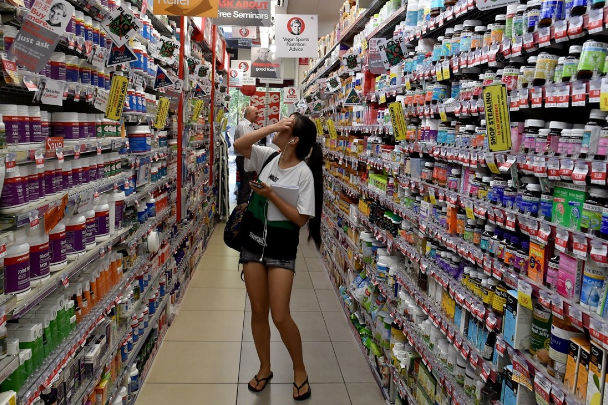 The price of milk formula in Singapore has shot up over the last decade. Photo: AFP