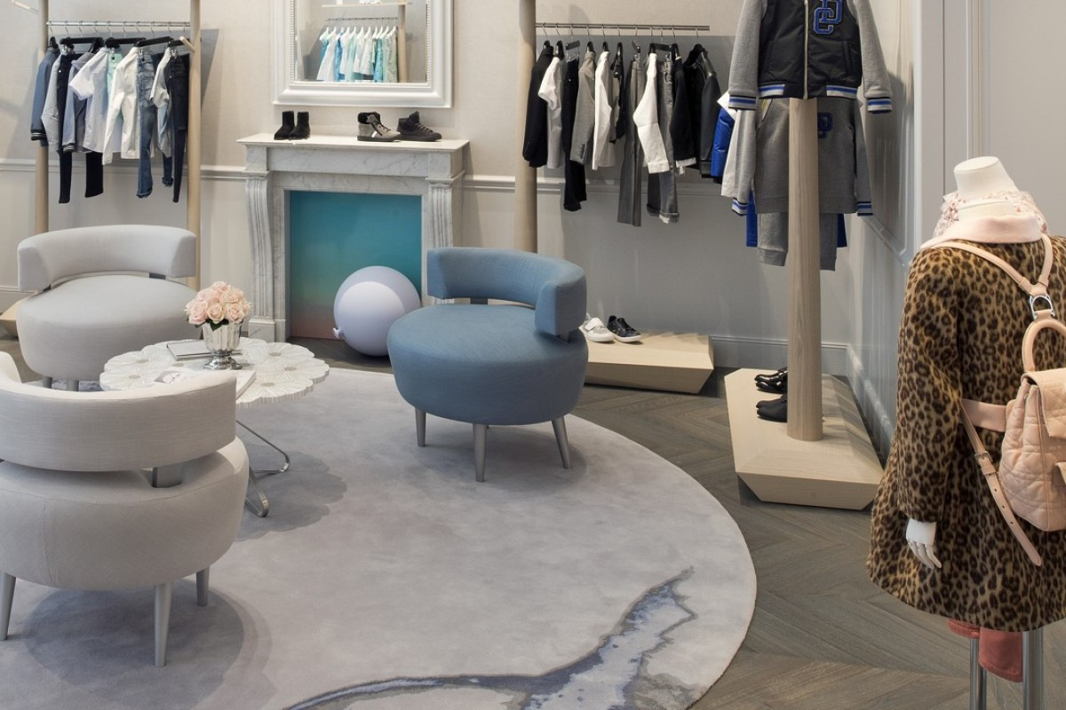 New Dior Baby and Dior Kids boutique in Geneva