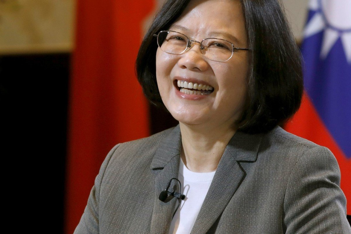 Tsai Ing-wen has had a very mixed first year in office. Photo: Reuters