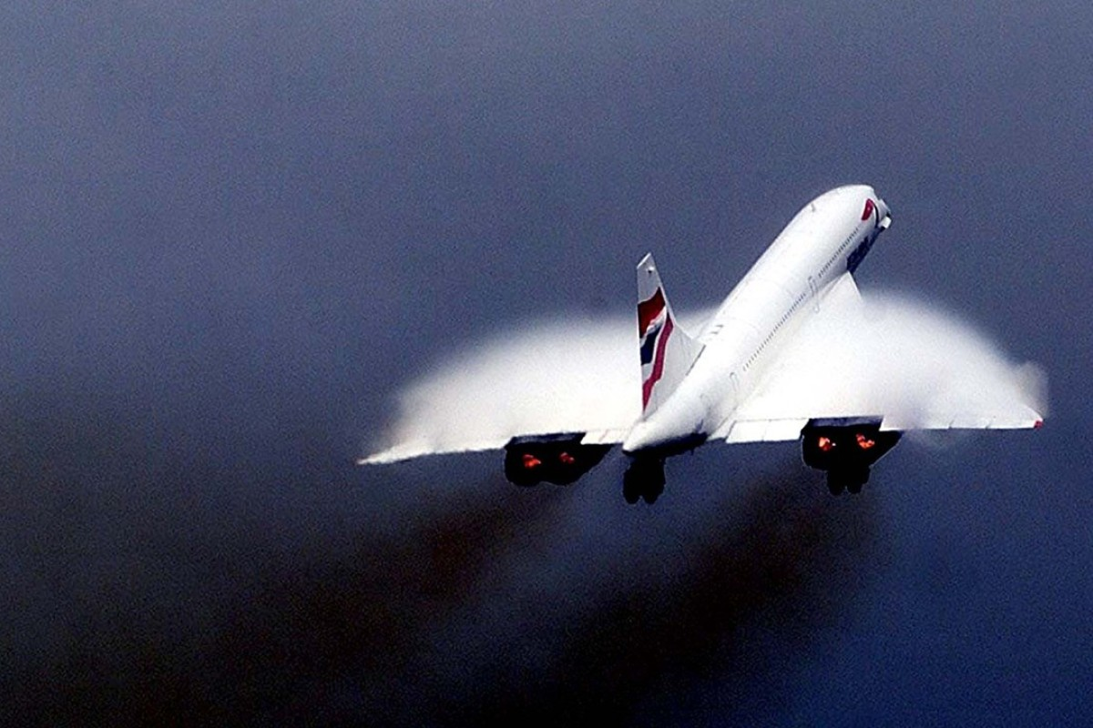 British Airways' Concorde BA004, pictured here in 2000. Concorde flights were halted in 2003. Photo: REUTERS