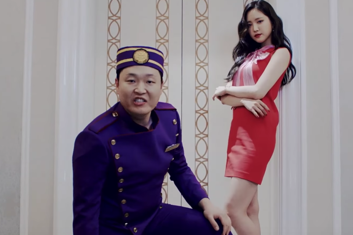 PSY'as video for New Face is shot in Macau