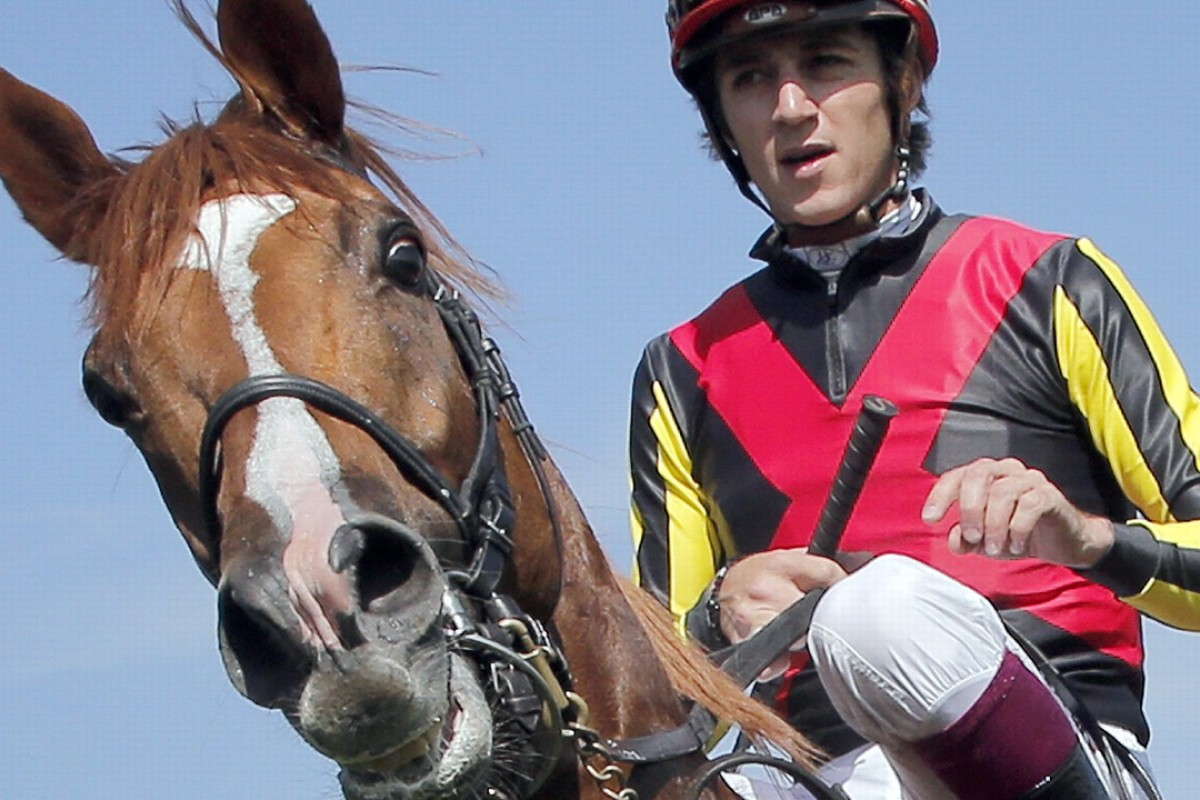 Christophe Soumillon and Orfevre. Photo: AP Photo/Christophe Ena