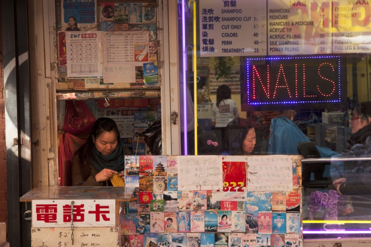Chinatown, New York - hardscrabble lives and heartbreak. Picture: Alamy