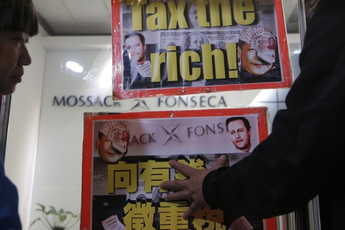 The Hong Kong office of the law firm Mossack Fonseca, which was embroiled in the Panama Papers scandal last year. Picture: AP