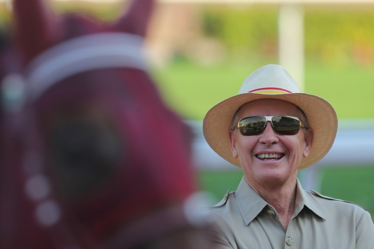John Moore after the fourth straight win for Magic Legend. Photos: Kenneth Chan.