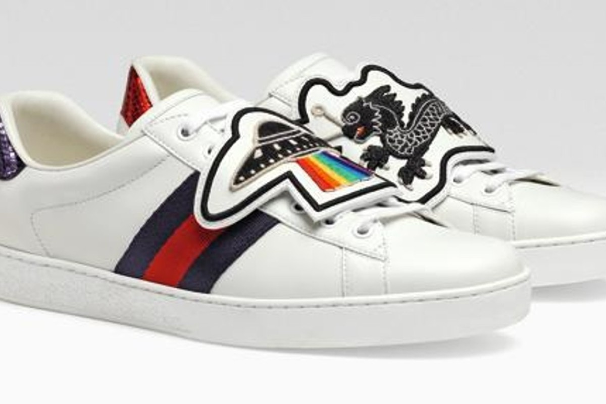 Gucci customisable Ace sneakers